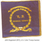 26th Regiment (NY), U.S. Colored Troops banner
