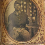 1st Sgt. James Baldwin, Co G, 56th U.S. Colored Infantry