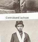 Jackson - pictured as contraband and then drummer