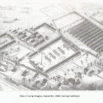 Drawing of Camp Douglas