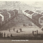 Camp Douglas Etching - 1864