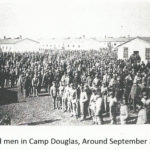 Enlisted men in Camp Douglas, Around September 30, 1864