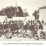 Co H, 196th Pennsylvania Infantry, outside Camp Douglas 1864