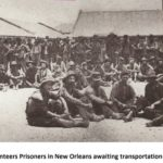 Iowa Volunteers Prisoners in New Orleans awaiting transportation after exchange