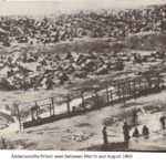 Andersonville Prison seen between March - August 1864